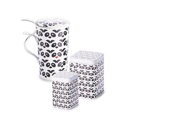 Jumbo herb tea cup Panda