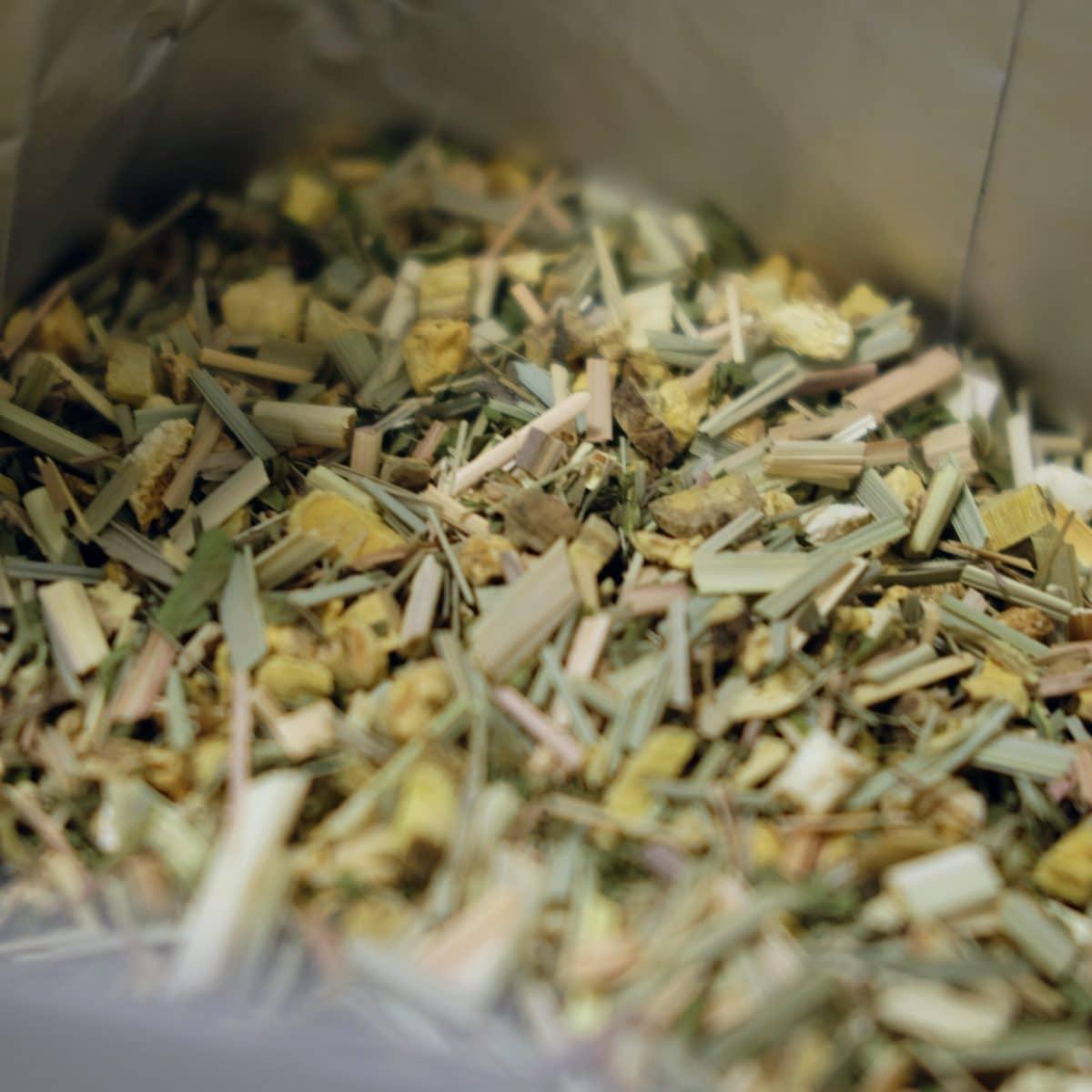 Un thé au gingembre épicé