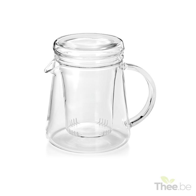 Glazen theepot 0,4L met glazen theefilter