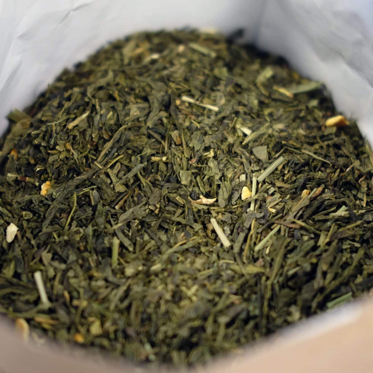 Lemon Sencha the vert