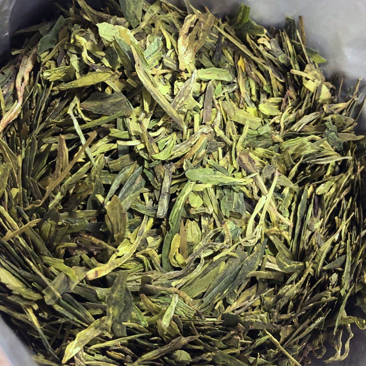 Thé vert Lung Jing