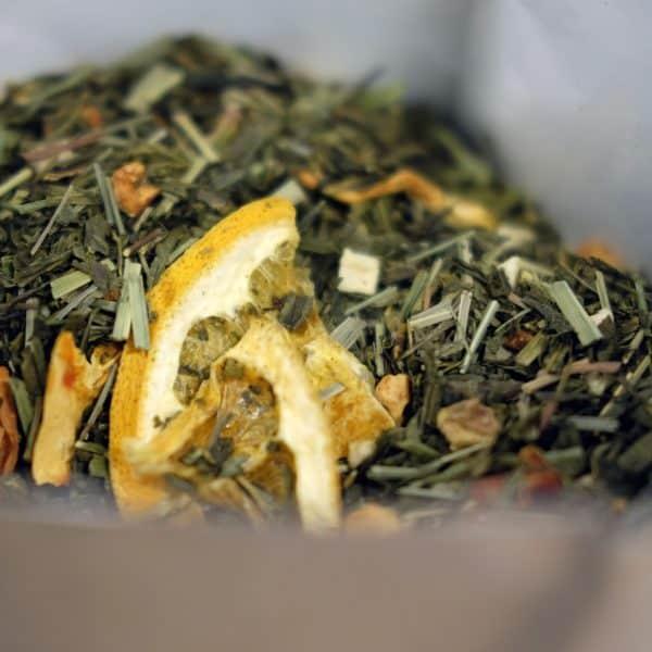 Groene thee met passievrucht