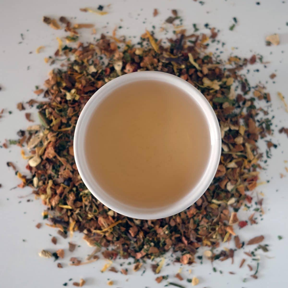 Sunset Glow Ambar Tea
