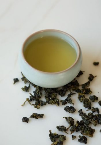 oolong thee en kopje