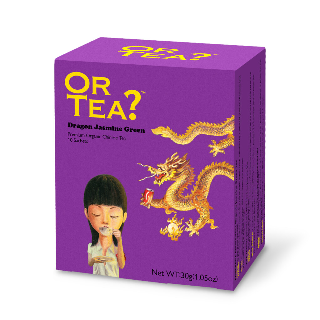 Dragon Jasmine Green (10-Sachet Box) - BIO