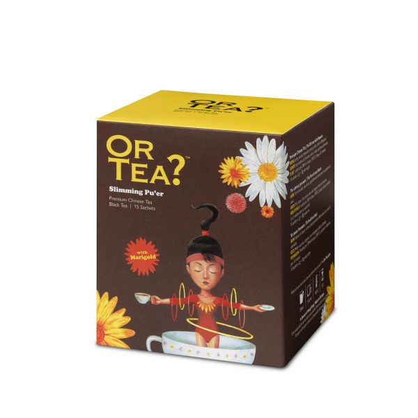 Slimming Pu'er (15-Sachet Box)