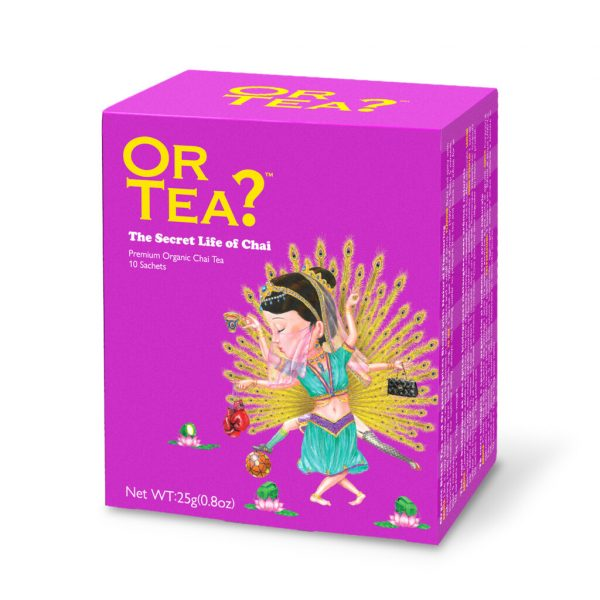 The Secret Life of Chai (10-Sachet Box) - BIO