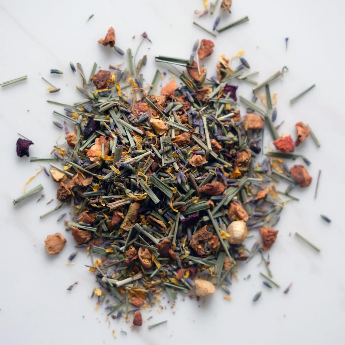 Luscious Lavender & Apricot